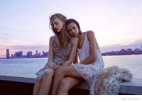 Binx Walton & Hedvig Palm Model Party Looks for Urban Outfitters Shoot