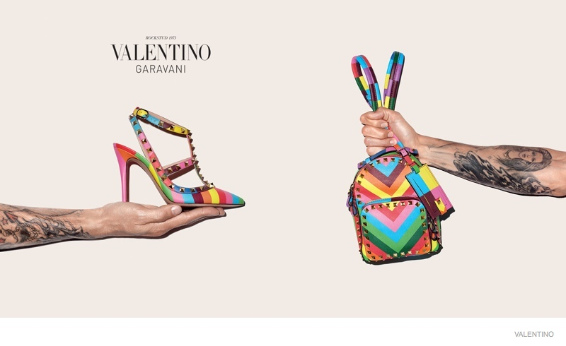 Terry Richardson Hand Models Valentino's Resort Accessories