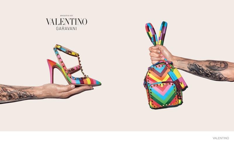 Terry Richardson Hand Models Valentino's Resort Accessories
