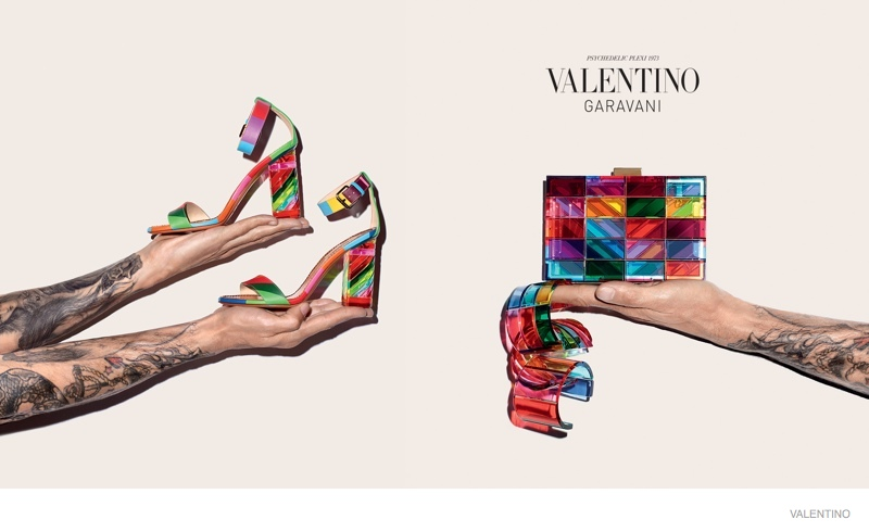 Valentino Resort 2018 Ad Campaign Terry Richardson