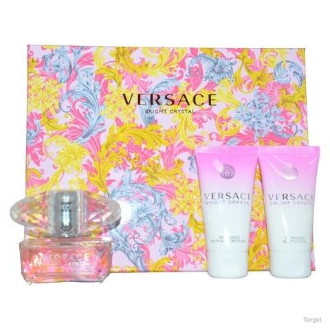 Women's Versace Bright Crystal by Versace - 3 Piece Set