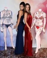 Adriana Lima & Alessandra Ambrosio Pose with VS Fantasy Bras in Las Vegas