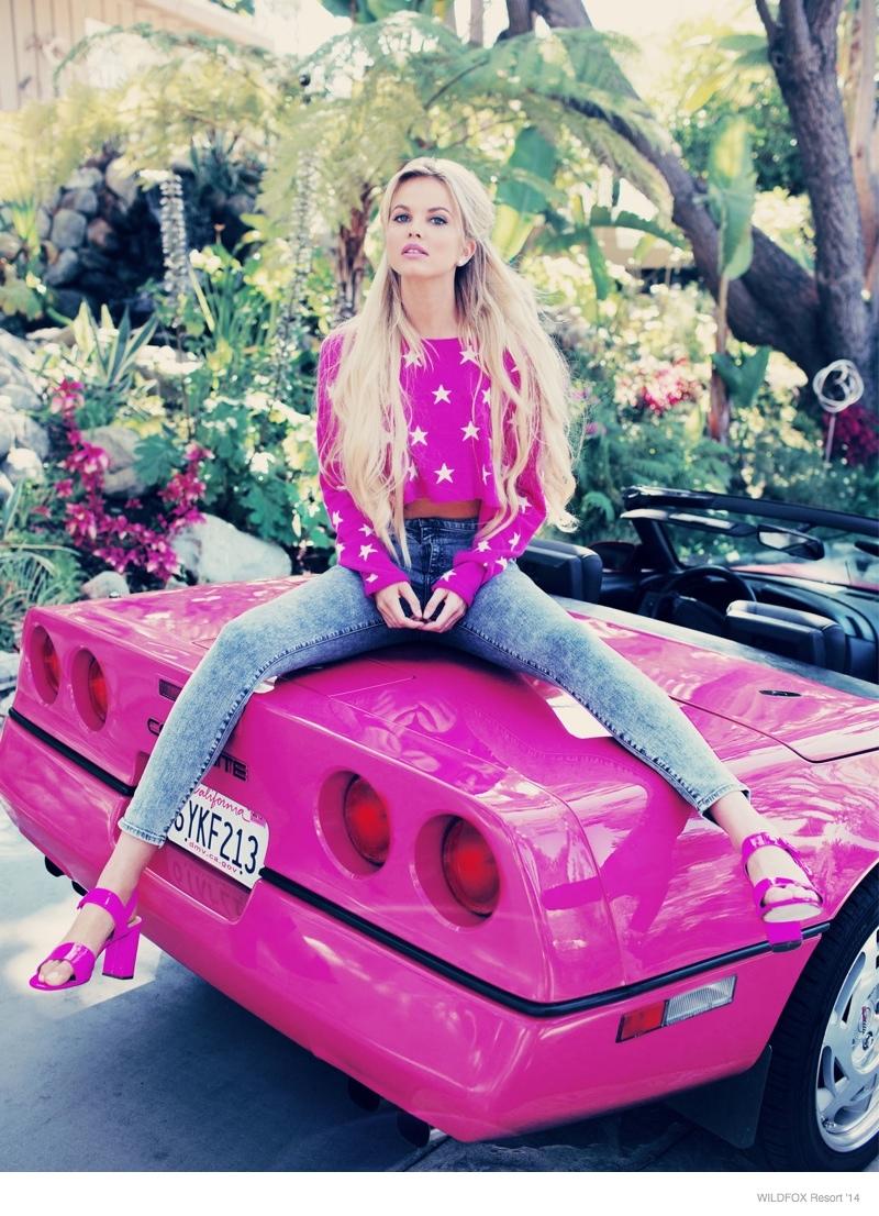 Wildfox Barbie Lookbook for Resort 2014