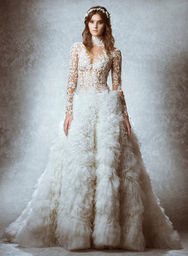 Wedding Dresses For Fall 2015 Zuhair Murad Fall
