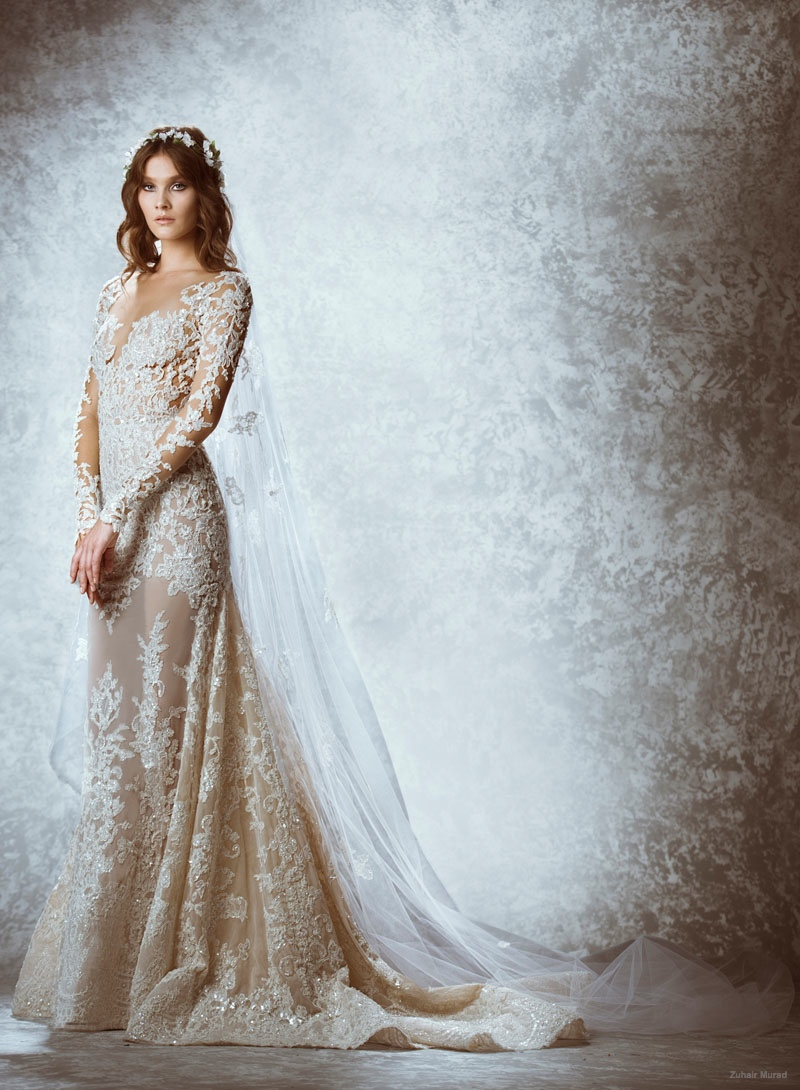 Fall Wedding Gowns : Zuhair murad fall bridal wedding dresses photos