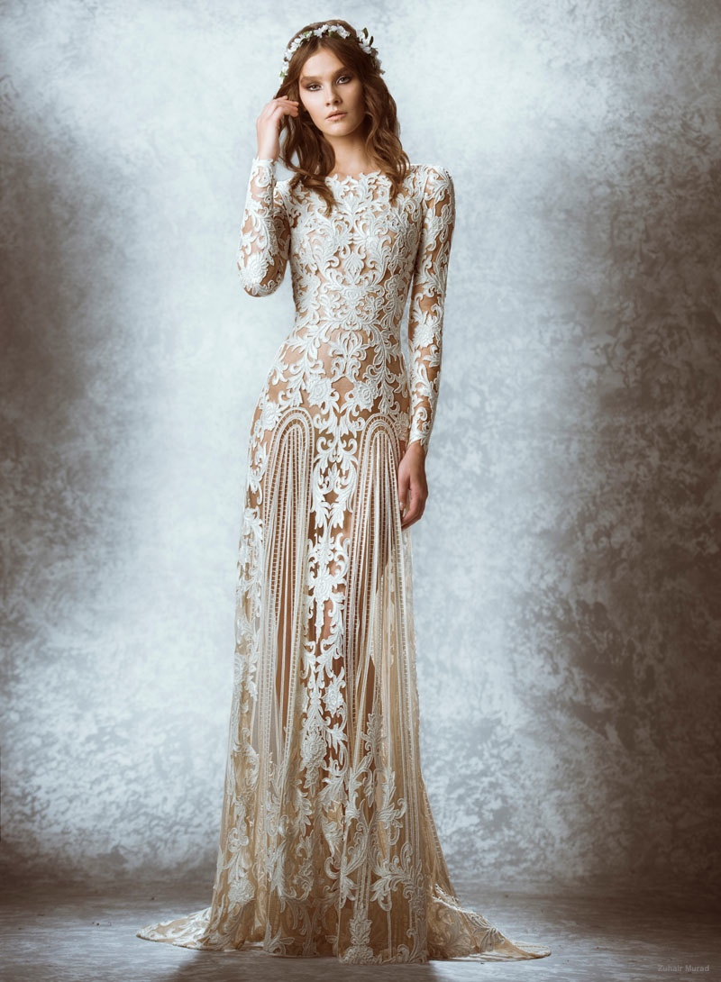 zuhair murad 2015 fall bridal wedding dresses photos