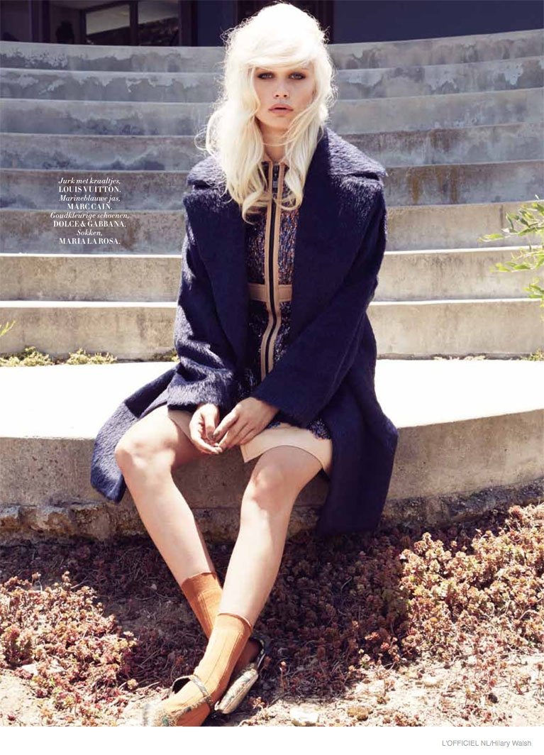 60s Trending: Delilah Parillo Takes on Retro Fashion for L'Officiel Netherlands