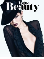 Chiharu Okunugi is a 70s Beauty for Vogue Thailand by Stockton Johnson