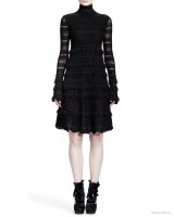Alexander-McQueen-Sheer-Patchwork-Lace-Stripe-Dress