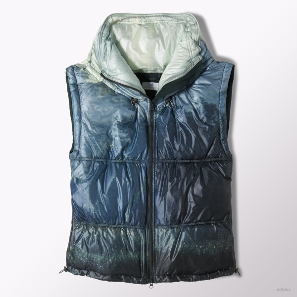 adidas by Stella McCartney Weekender printed gilet