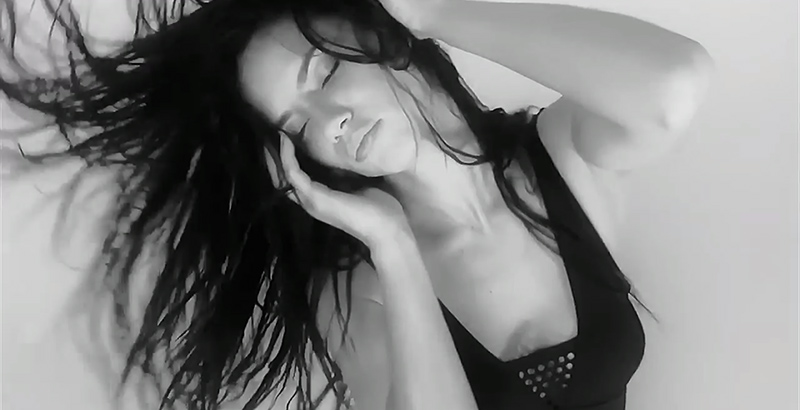 Adriana Lima Moves Sensually for LOVE's Advent Calendar