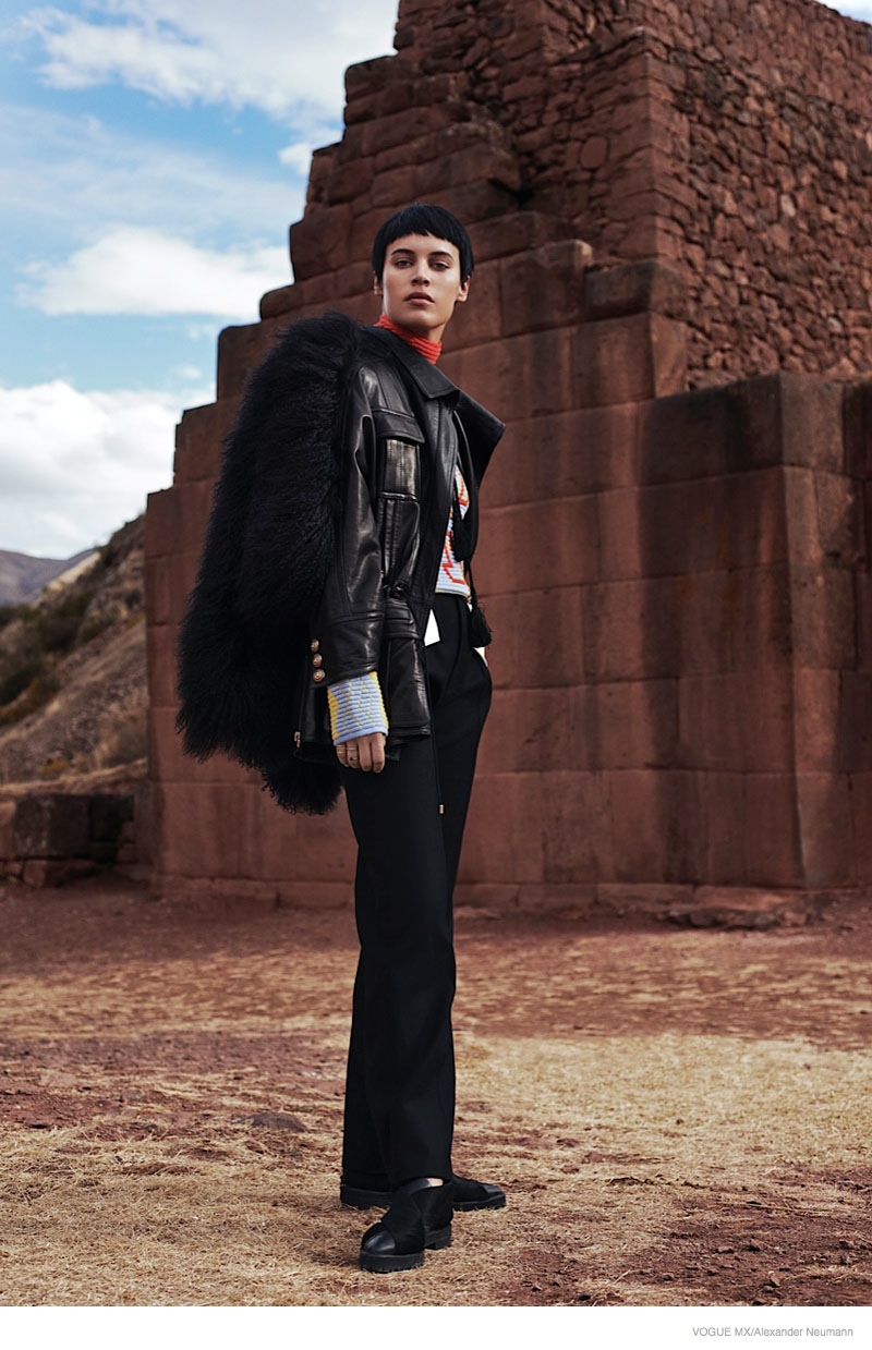 Alana Bunte Does Country Living For Vogue Mexico By