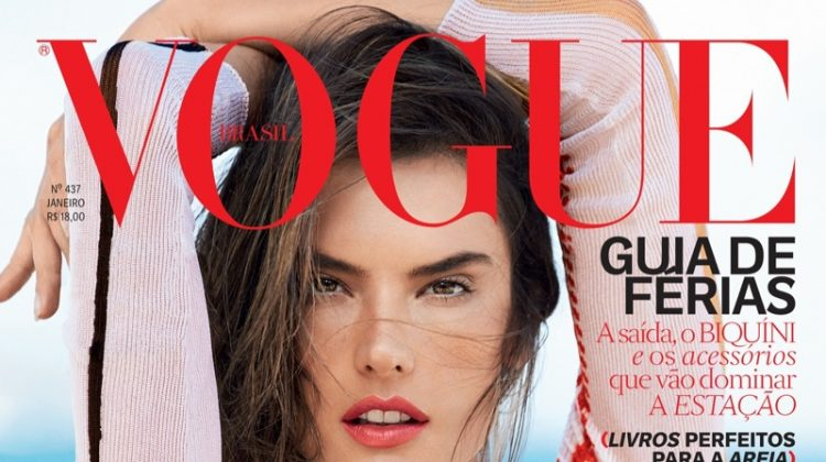 Alessandra Ambrosio is Looking Hot on Vogue Brazil January 2015 Cover