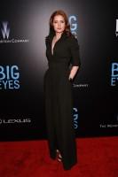 "Amy Adams Spotted in Max Mara Shirtwaist Dress at ""Big Eyes"" World Premiere"