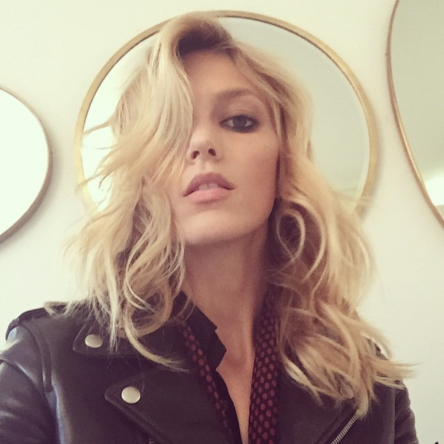 Anja Rubik. Photo via Instagram