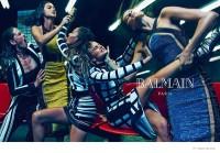 Model Catfight! More Photos Revealed of Balmain's Spring 2015 Ads