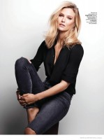 Bar Refaeli Models Laid-Back Style in Cover Story for Marie Claire Spain