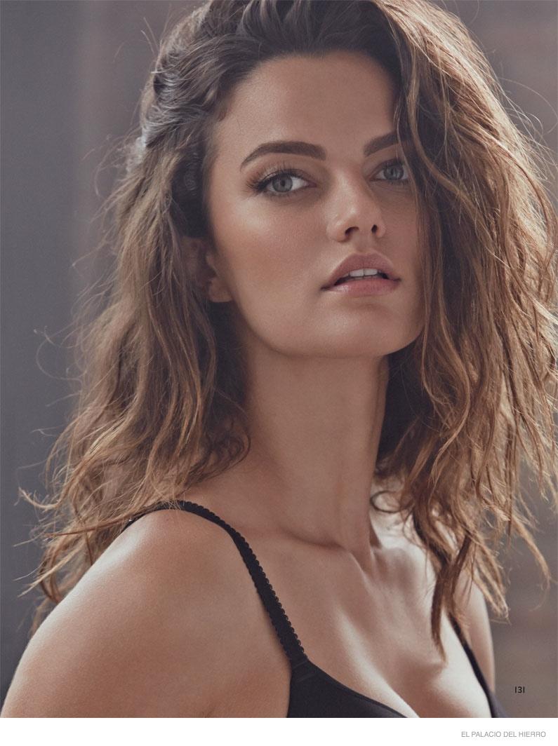 Barbara Fialho Models Underwear Styles for El Palacio de ...