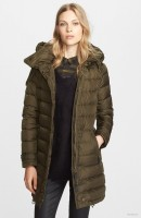 Burberry Brit 'Winterleigh' Hooded Down Coat available at Nordstrom for $995.00