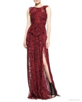 Burberry Prorsum Sleeveless Lace Gown available at Bergdorf Goodman for $3,300.00