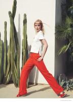 Tiiu Kuik Wears Colorful Prints for C Magazine