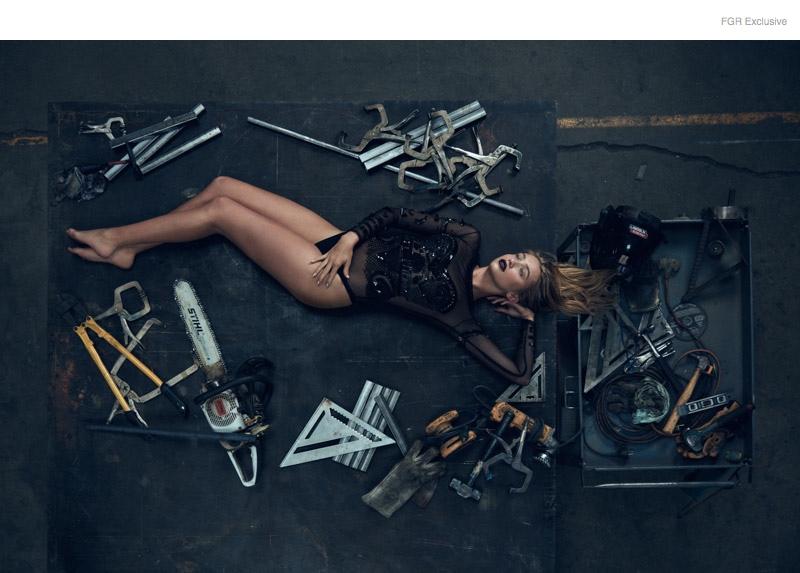 (This Image & Next) Bodysuit Elisabeth Franchi