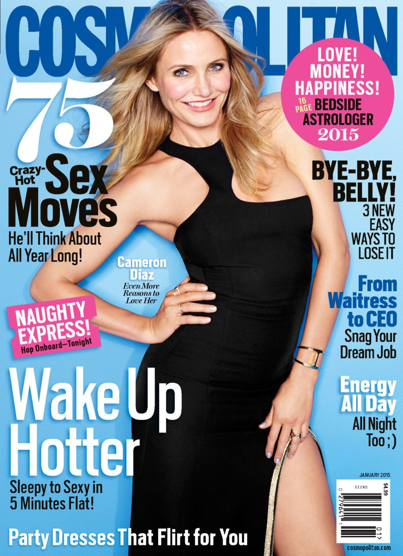 Cameron Diaz Covers Cosmopolitan, Gives Relationship Advice