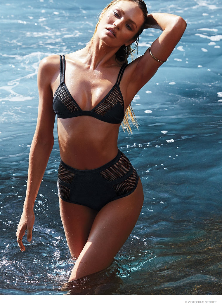 CANDICE SWANEPOEL: The South African model has been a Victoria's Secret Angel since 2010. Candice has appeared on multiple Victoria's Secret Swim covers through the years. In 2014, she was named #1 on Maxim's Hot 100 list. Candice has also modeled for brands like Tom Ford, Versace and Givenchy.