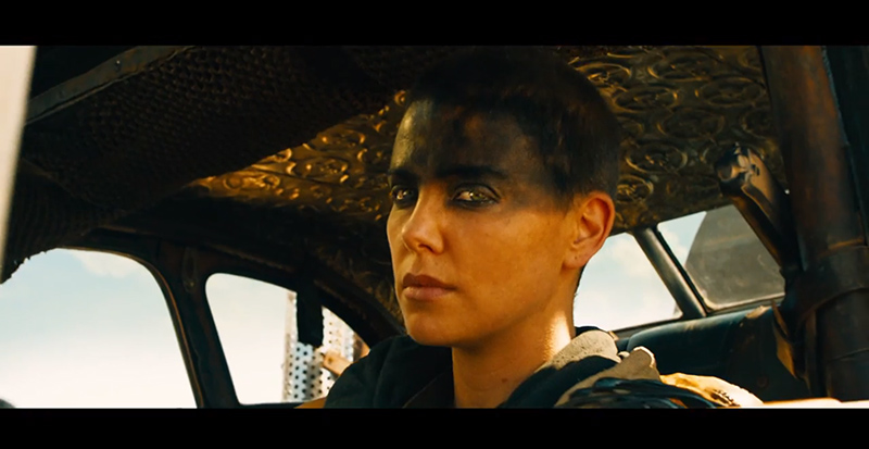 "Charlize Theron Stars in New ""Mad Max: Fury Road"" Trailer"