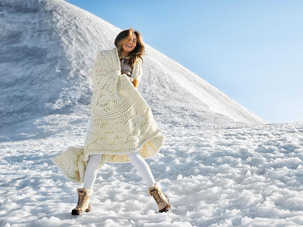 Chrissy Teigen Goes to Iceland for UGG Australia Winter '14 Campaign