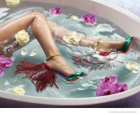 Christian Louboutin Gets Waterlogged for Spring 2015 Lookbook