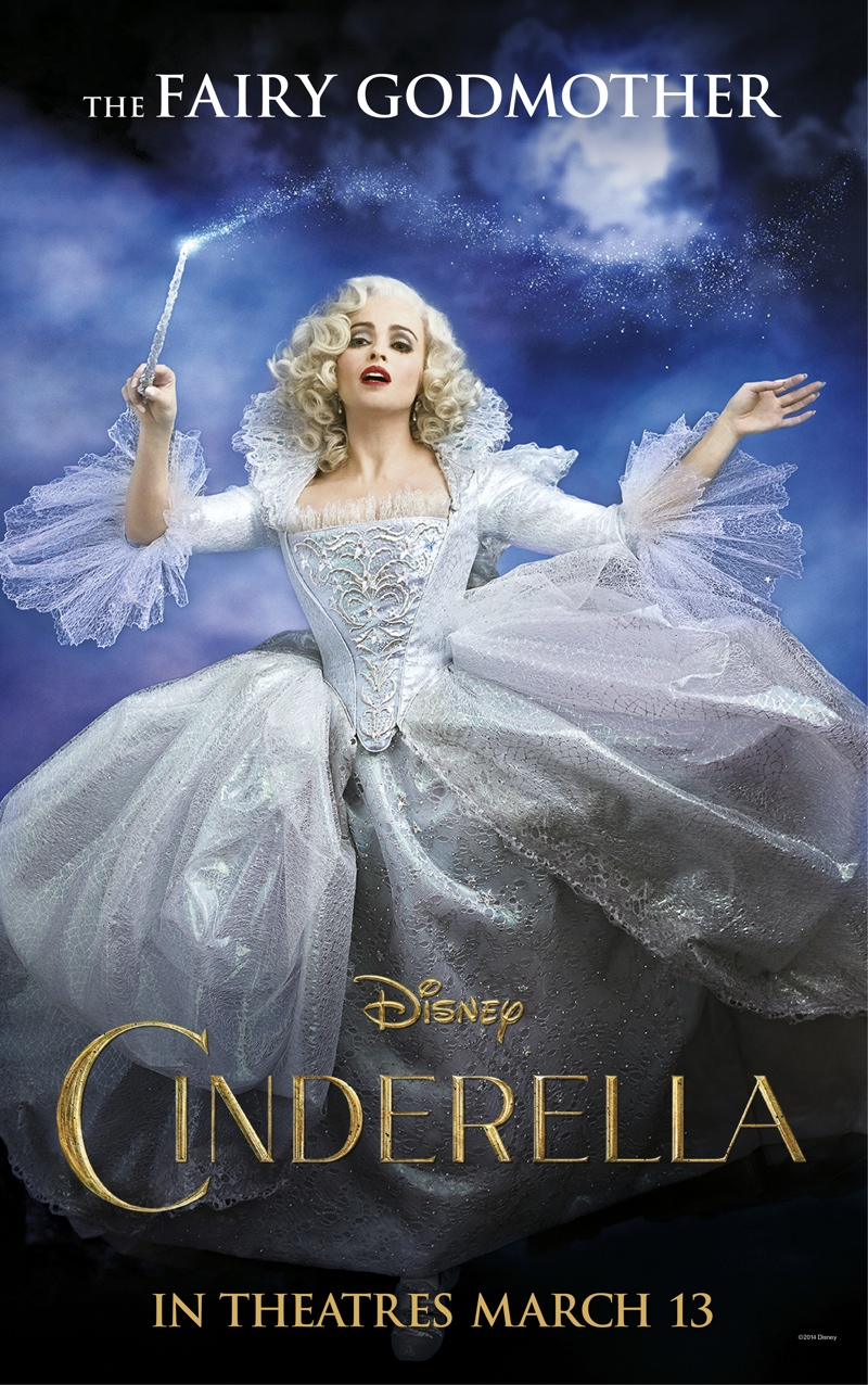 Helena Bonham Carter on Cinderella (2015) movie poster.