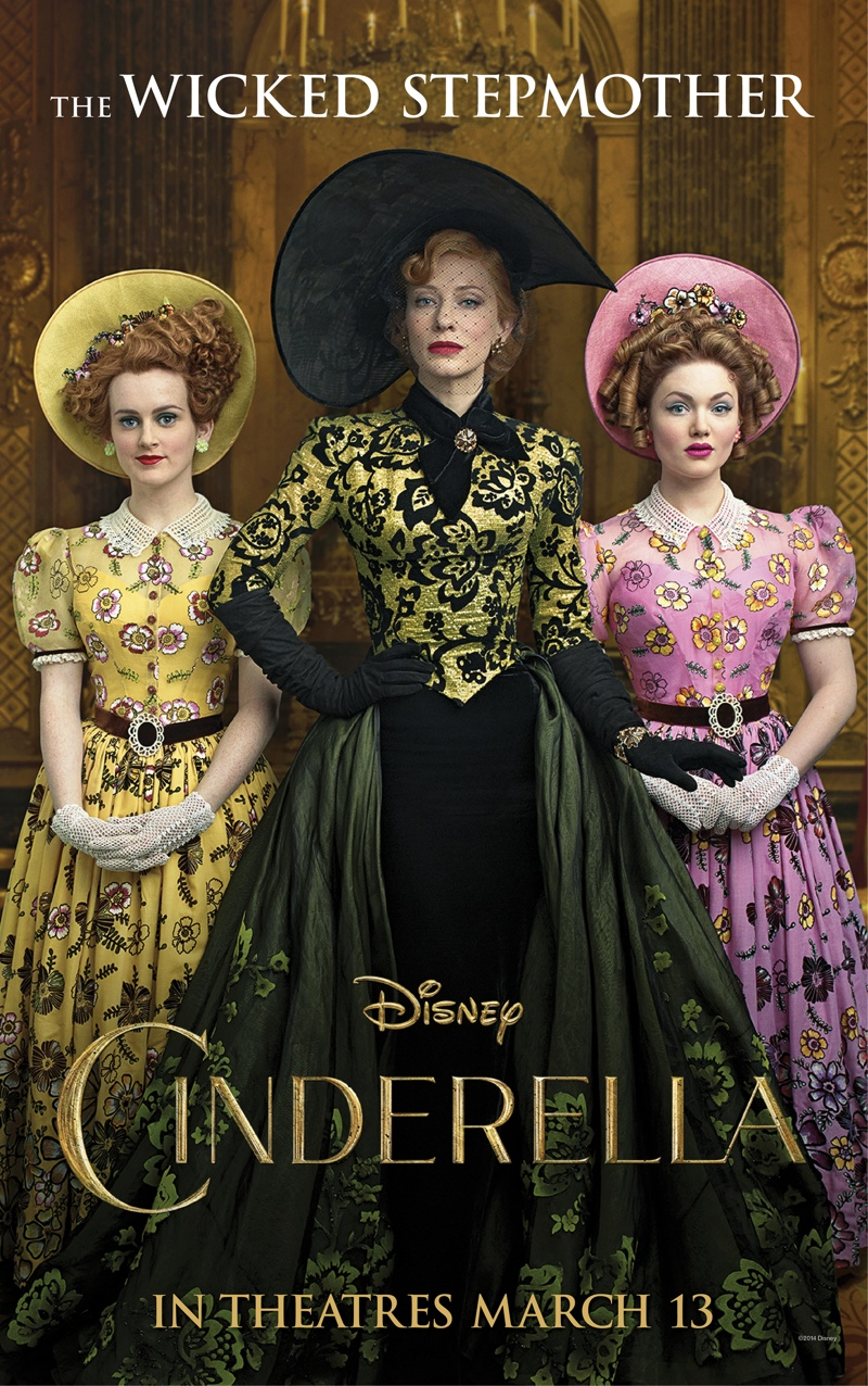 "More ""Cinderella"" Posters with Cate Blanchett, The Fairy Godmother + More"