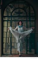Coco Rocha in Dreamy Gowns for Hola Magazine by Diego Uchitel