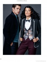Crystal Renn Gets Casual for El Palacio De Hierro Holiday 2014
