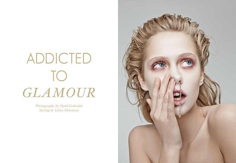 "FGR Exclusive | Anastasiya Kolbasko by Danil Golovkin in ""Addicted to Glamour"""