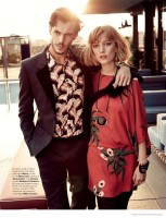 Lou & Federico Wear Date Night Style for Marie Claire Netherlands