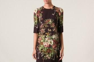 dolce-gabbana-floral-print-dress