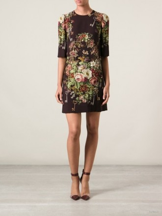 dolce-gabbana-floral-print-dress