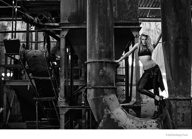 Dree Hemingway Gets Dark For S Moda Shoot By Sergi Pons