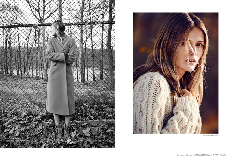 Edita Vilkeviciute Takes on Sweater Weather for Scandinavia S/S/A/W