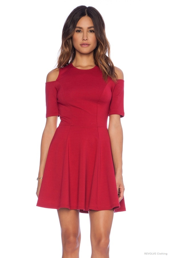 Eight Sixty Cold Shoulder Dress available at REVOLVE Clothing for $66.00