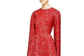 giambattista-valli-a-line-cloque-dress-red