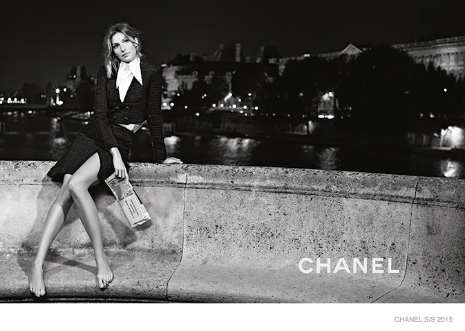 See Gisele Bundchen's Chanel Campaign for Spring 2015!