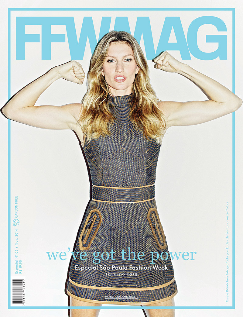 Gisele Bundchen Strikes a Strong Pose on FFWMAG Cover