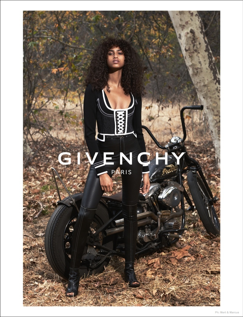 Another Look at the Givenchy's Biker Inspired Spring 2015 Ads