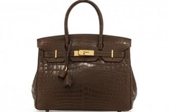 Vintage Hermès Crocodile Birkin Bag
