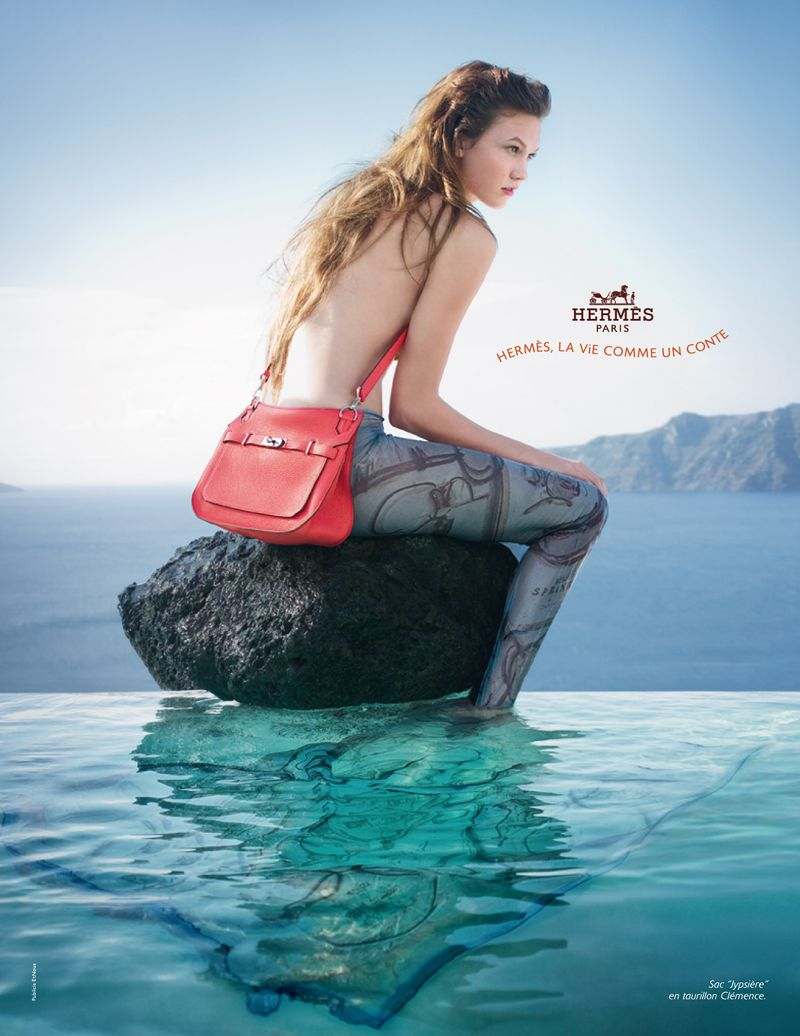 Throwback Thursday: Karlie Kloss Was Fairytale Chic in Hermès' Spring 2010 Ads