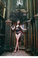 Incanto Goes Burlesque for Christmas Dreams Lingerie Campaign