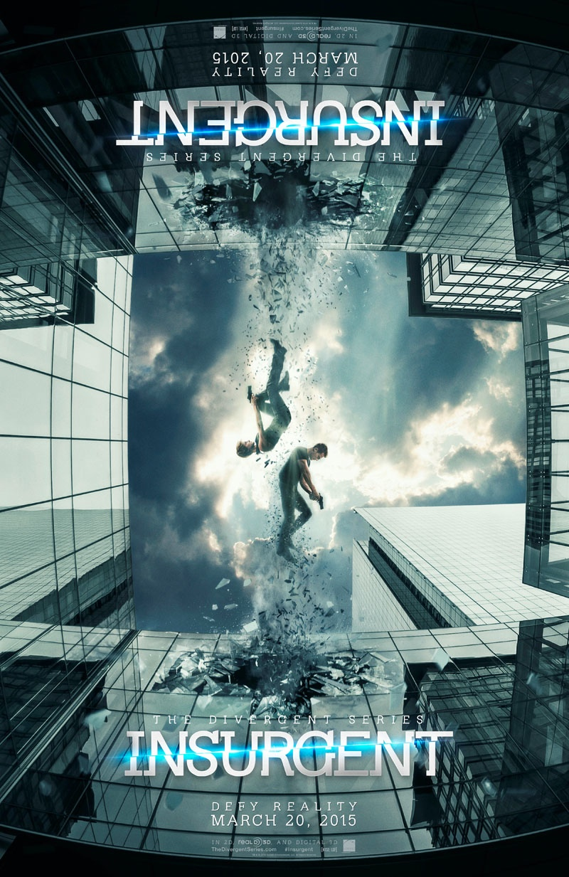 "New ""Insurgent"" Movie Posters + Trailer Released!"